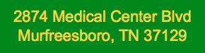 Job Location - 2874 Medical Center