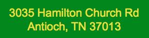 3035 Hamilton Church Rd
