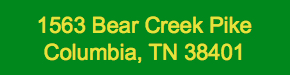 Job Location - 1563 Bear Creek Pike