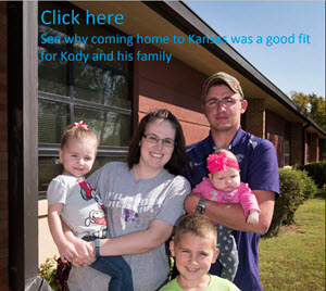 Employee and Family Return Home